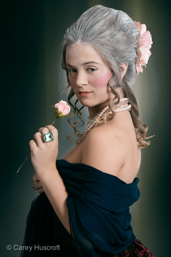 Marie Antoinette as a woman